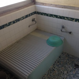 我が家の古い風呂
