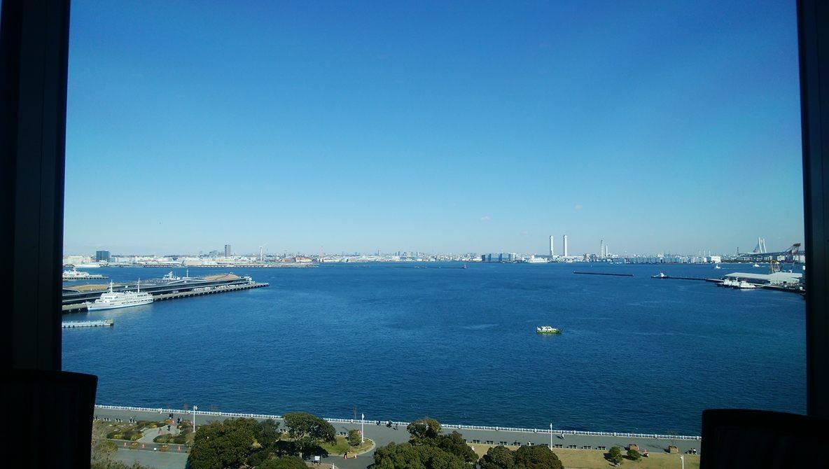 ホテルモントレ横浜_エスカーレからの風景