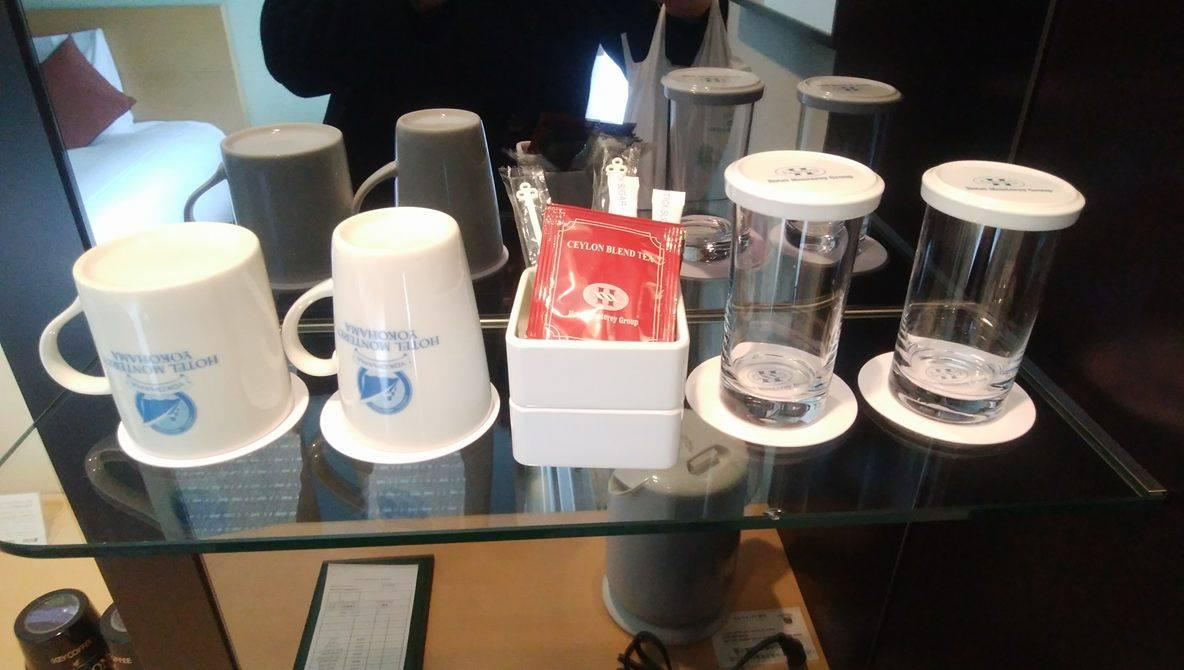 ホテルモントレ横浜_紅茶2